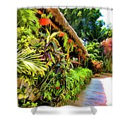 Tropical Splendor Shower Curtain