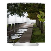Tropical Storm Hermine Shower Curtain