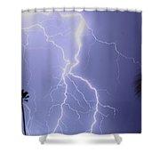 Tropical Storm Ll Shower Curtain