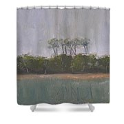 Tropical Storm Shower Curtain