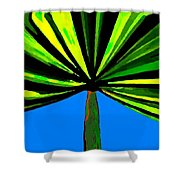 Tropical Tree Shower Curtain