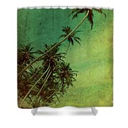 Tropical Vestige Shower Curtain by Andrew Paranavitana