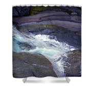 Tropical Water Bird Josephine Falls Shower Curtain