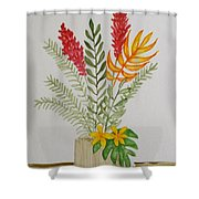 Tropicals Shower Curtain