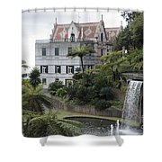Tropican Monte Palace Garden, Madeira, Portugal. Shower Curtain
