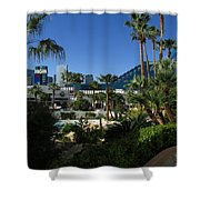 Tropicana And The M G M Grand, Las Vegas Shower Curtain