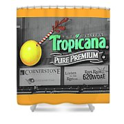 Tropicana Field Shower Curtain