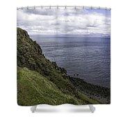 Trotternish Landscape Shower Curtain