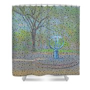 Troup Square  Shower Curtain