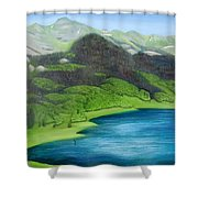 Trout Lake North Shower Curtain