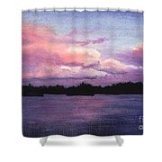 Trout Lake Sunset I Shower Curtain