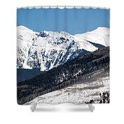 Truchas Peak Shower Curtain