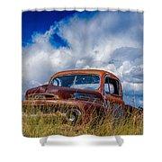 Truck Heaven Shower Curtain