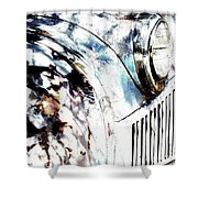 Truck In Dappled Sunlight Shower Curtain