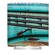 Truck Lines Shower Curtain