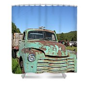 Truck Montana Shower Curtain