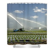 Truck Mounted Irrigation Shower Curtain