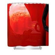 Truck Reflection 2 Shower Curtain