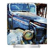 Truckin Shower Curtain by Debbi Granruth