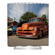 Trucking With Style Shower Curtain