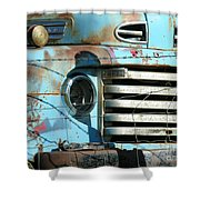 Trucks Life Shower Curtain