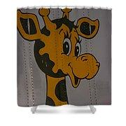 Truckside Mural Shower Curtain