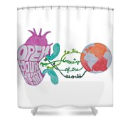 True Beauty In The World Shower Curtain