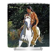 True Horsemen Shower Curtain