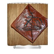 True Shepherd 21 - Tile Shower Curtain
