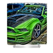 Truefiber Mustang Shower Curtain