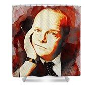 Truman Capote, Literary Legend Shower Curtain