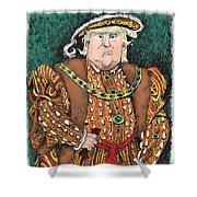 Trump As King Henry Viii Shower Curtain