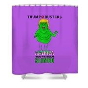 Trump Slimes America Shower Curtain