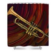 Trumpet 2 Shower Curtain