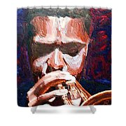 Trumpeters Shower Curtain
