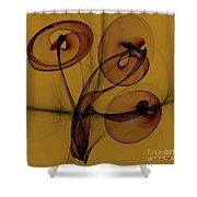 Trumpets Of Jericho Shower Curtain