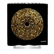 Truncated Hyper Dodecahedron Shower Curtain