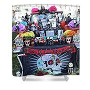 Trunk El Camino Day Dead  Shower Curtain