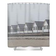 Truro Fog Imagination Shower Curtain