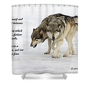 Trust In Yourself Shower Curtain