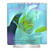 Trust The Dreams Shower Curtain