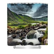 Tryfan And Ogwen Lake Shower Curtain