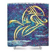 Trying New Waters Shower Curtain