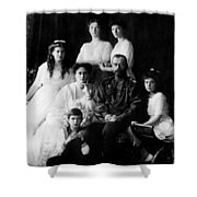 Tsar Nicholas II And His Family - 1913 Shower Curtain
