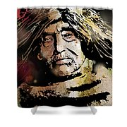 Tsawatenok Man Shower Curtain