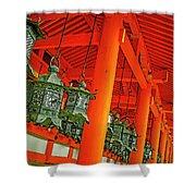 Tsuri-do-ro Or Hanging Lantern #0807-5 Shower Curtain