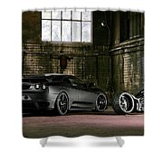 Tu Nero II  Shower Curtain