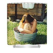 Tub 012 Shower Curtain