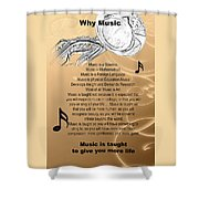 Tuba Why Music T-shirts Posters 4830.02 Shower Curtain