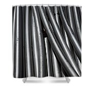 Tubular Abstract Art Number 1 Shower Curtain